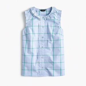 Lovely sleeveless top from j crew! NWT!